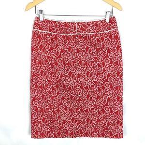 Liz Claiborne Hawaii aloha pencil skirt